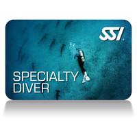 specialty diver deep stop