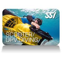 scooter dpv diving deep stop