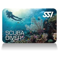 scuba diver deep stop