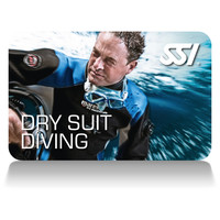 dry suite diving deep stop