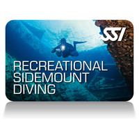 recreational sidemount diving deep stop